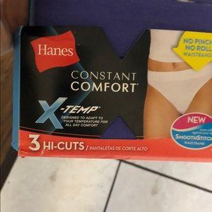 Hanes Accessories - Hanes Constant Comfort® X-Temp® Hi-Cut Panties
